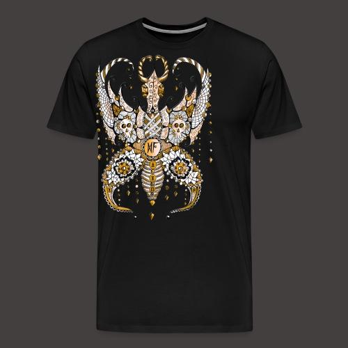 Papillon Lilou Dore - T-shirt Premium Homme
