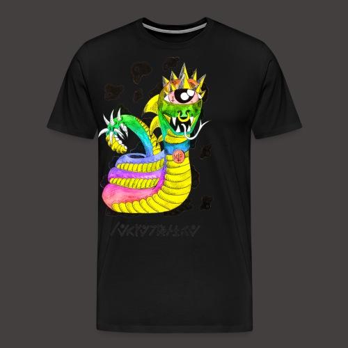 serpentaire multi-color - T-shirt Premium Homme