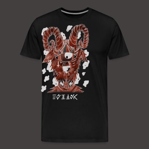 Belier Négutif - T-shirt Premium Homme