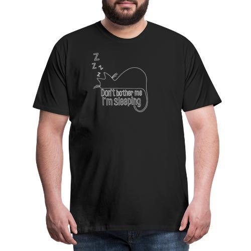 Sleeping cat - Men's Premium T-Shirt