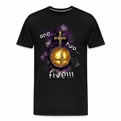 holy hand grenade of antioch - Camiseta premium hombre