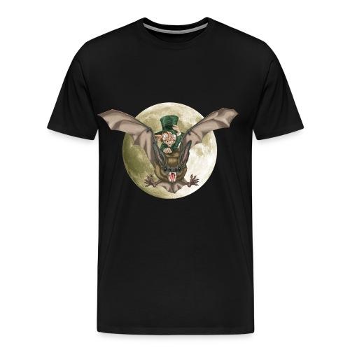 DUENDE MURCIÉLAGO luna sin brillo - Camiseta premium hombre