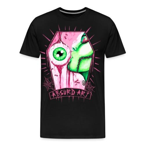 Eye Candy, by Absurd ART - Männer Premium T-Shirt