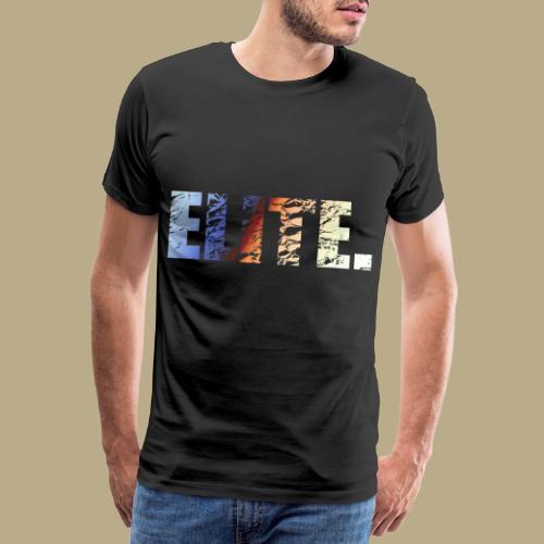 Elite. - Männer Premium T-Shirt