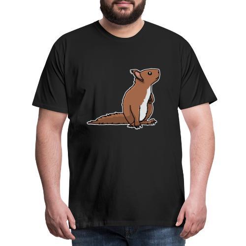 Eichhörnchen, Nagetier, Tier, süß, Geschenkidee - Männer Premium T-Shirt