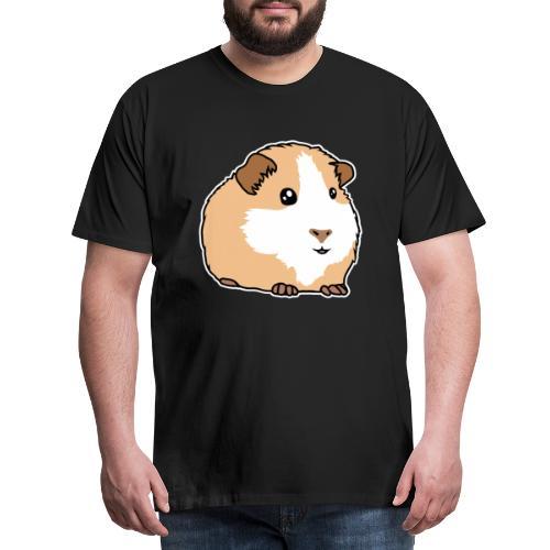 Meerschweinchen, Hausmeerschweinchen, Tier, kawaii - Männer Premium T-Shirt