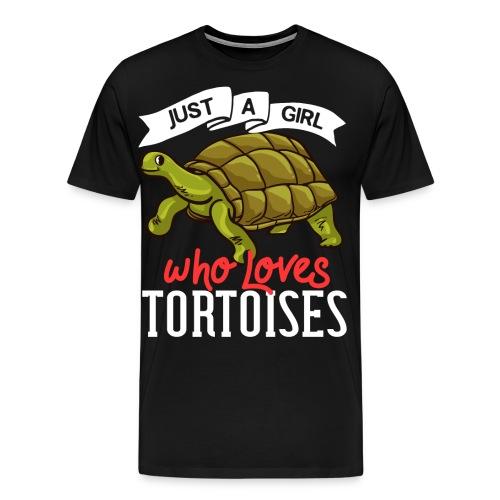 Landschildkröten Schildkröte Afrikanische Sulcata - Männer Premium T-Shirt