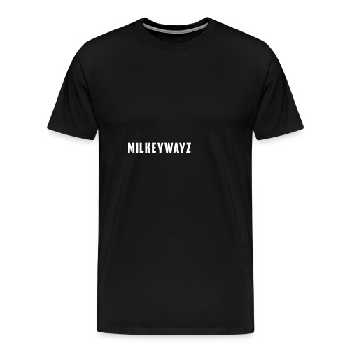 Milkeywayz Logo - Men's Premium T-Shirt