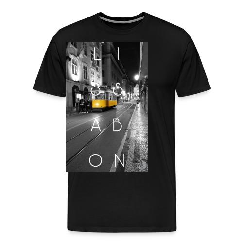 CITY Collection   Lissabon - Männer Premium T-Shirt