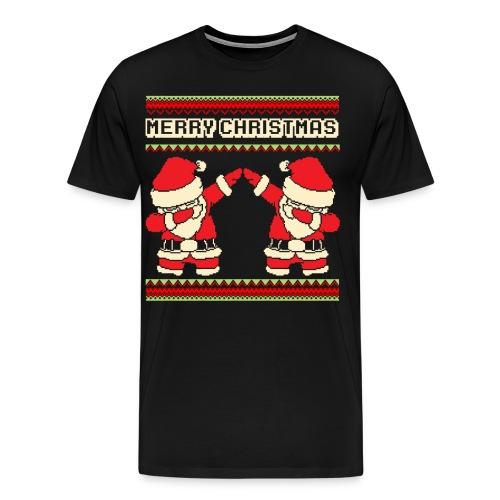 Dabbender Weihnachtmann dabbing santa Tanzen - Männer Premium T-Shirt