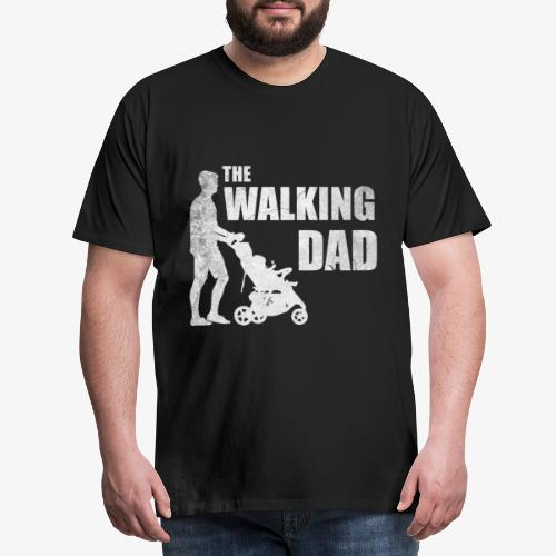 Vatertag The Walking Dad - Männer Premium T-Shirt