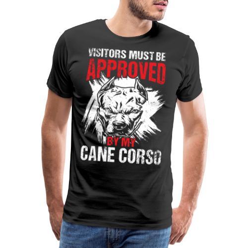 Cane Corso Besucher Beschützen Bewachen - Männer Premium T-Shirt