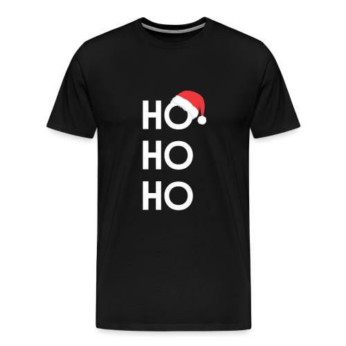 HoHoHo Weihnachtsmütze - Männer Premium T-Shirt