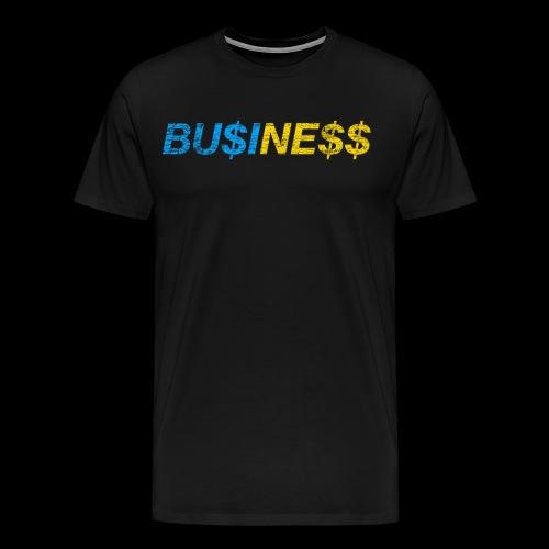 BU$INE$$ Used Look - Männer Premium T-Shirt
