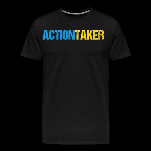 Actiontaker - Männer Premium T-Shirt