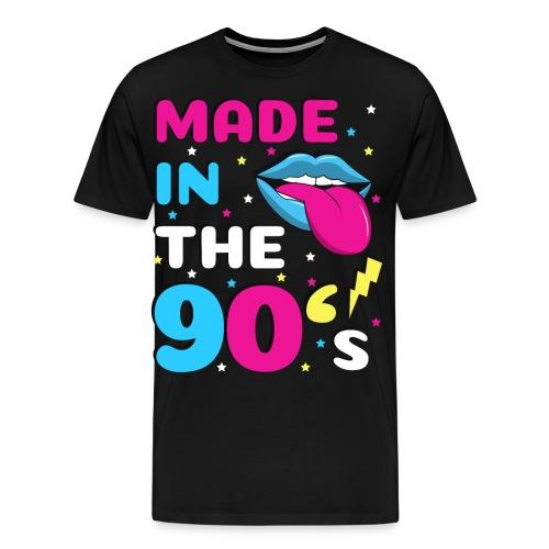 90er Jahre Party Feiern Mottoparty 90s - Männer Premium T-Shirt
