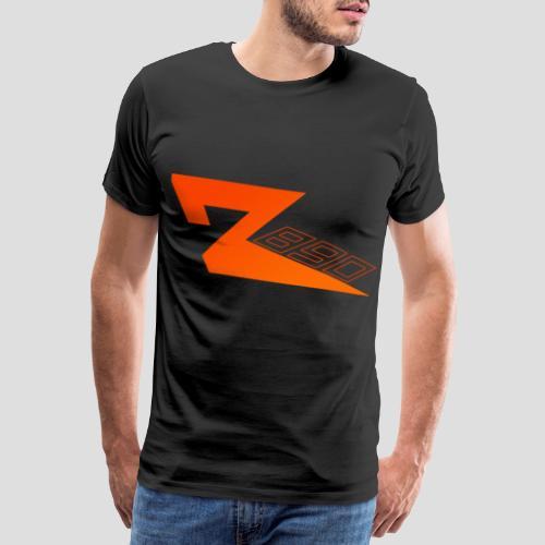 R 890 in Orange | für Herren und Damen - Männer Premium T-Shirt