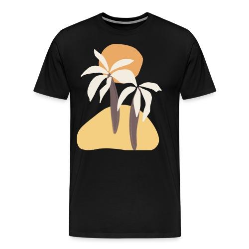 Minimal tropics - Maglietta Premium da uomo