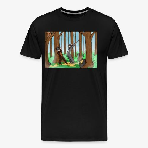 BEERTJEEE - Mannen Premium T-shirt
