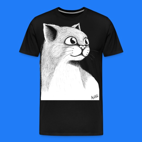 CAT HEAD by AGILL - T-shirt Premium Homme