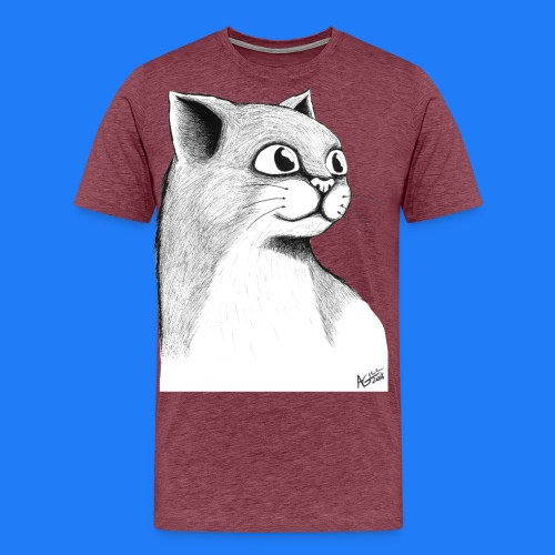 CAT HEAD by AGILL - T-shirt Premium Homme