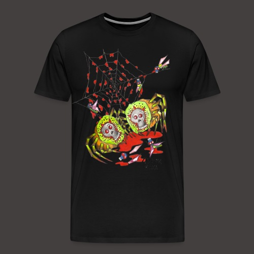 SPIDER KIWI - T-shirt Premium Homme