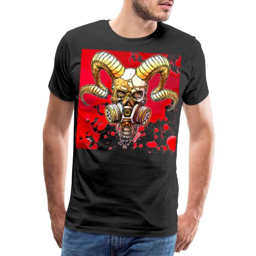 Teschio del diavolo - Devil's skull by Mescal - Maglietta Premium da uomo