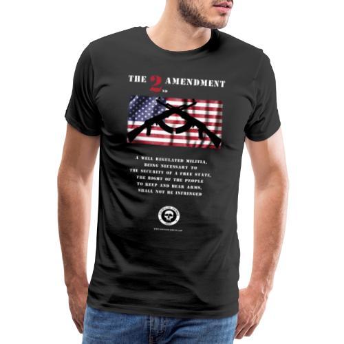 2nd Amendment - Männer Premium T-Shirt