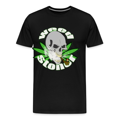 weed stoner - T-shirt Premium Homme