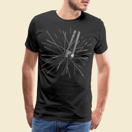 Radball Speichen 2 - Männer Premium T-Shirt
