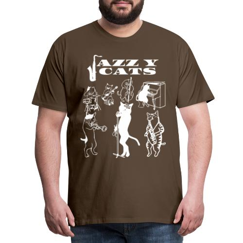 Jazzy Cats - T-shirt Premium Homme