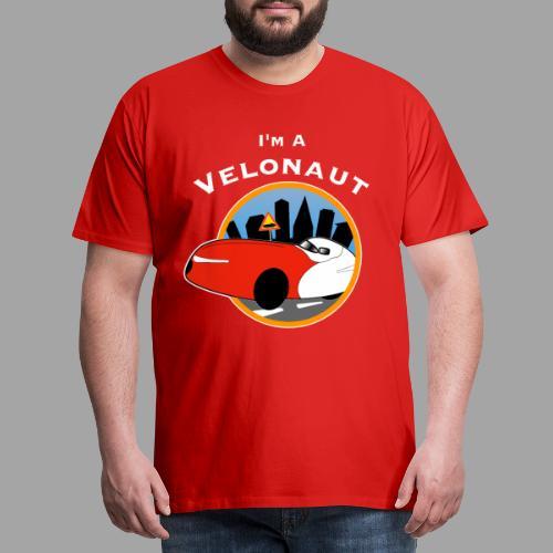 Im a velonaut - Miesten premium t-paita