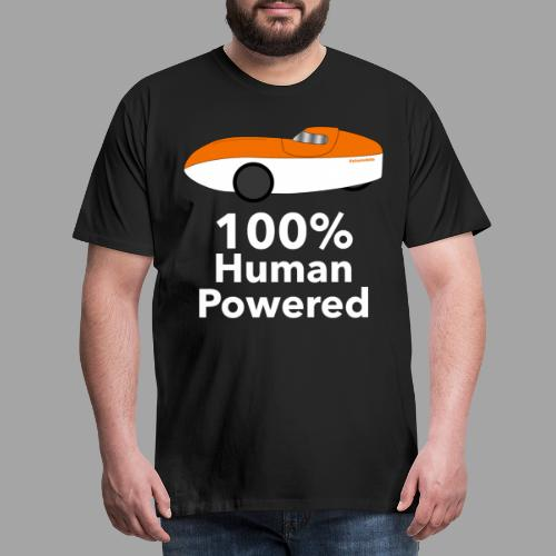 Human Powered WAW - Miesten premium t-paita