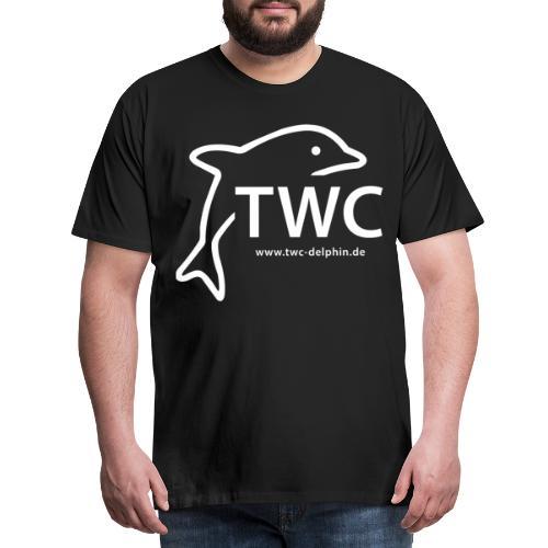twc weiß - Männer Premium T-Shirt