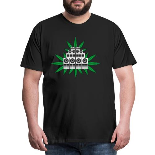 Ganja Sound System - Men's Premium T-Shirt
