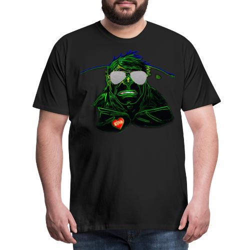 Hulk Marv Stan Lee Comic - Männer Premium T-Shirt