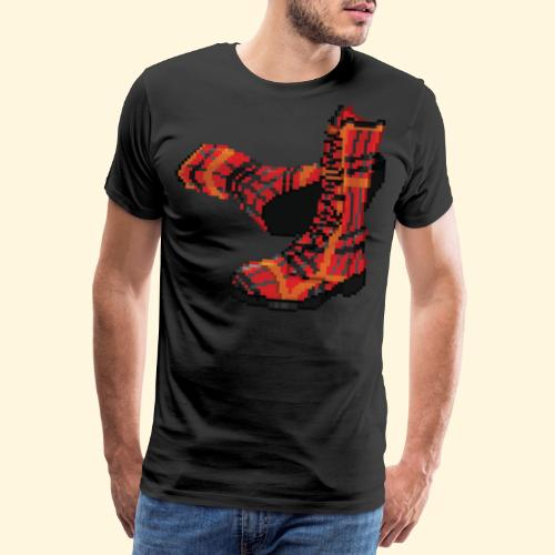 Rock and Shoes - Rock'n'll Shoes - T-shirt Premium Homme