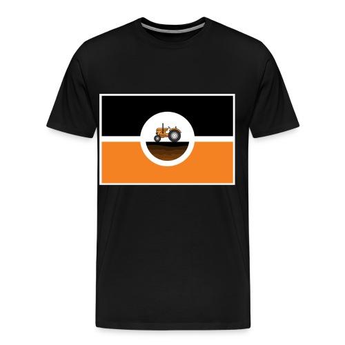 boerkistan vlag - Mannen Premium T-shirt