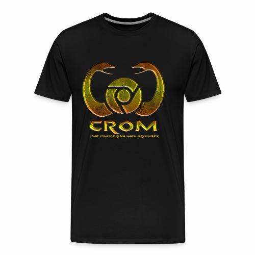 crom - Navegador web - Camiseta premium hombre