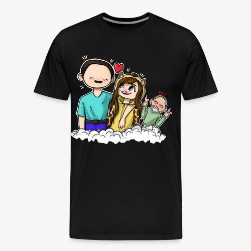 *Limited Edition* Esmee ❤️ Teun (Boze vader) - Mannen Premium T-shirt