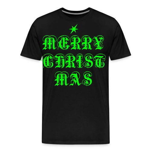Merry Christmas X-mas - Männer Premium T-Shirt