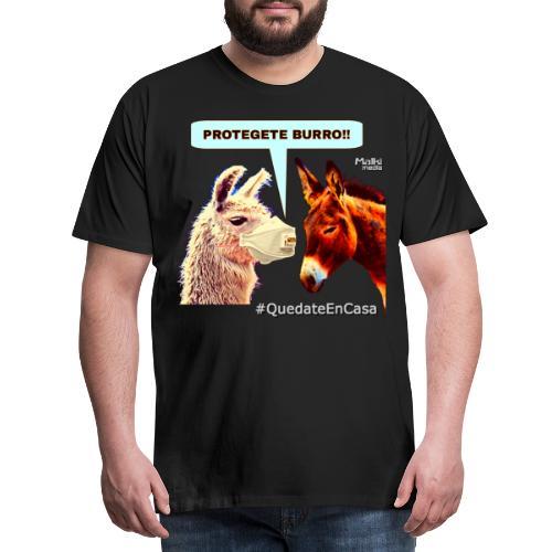 PROTEGETE BURRO - Camiseta premium hombre