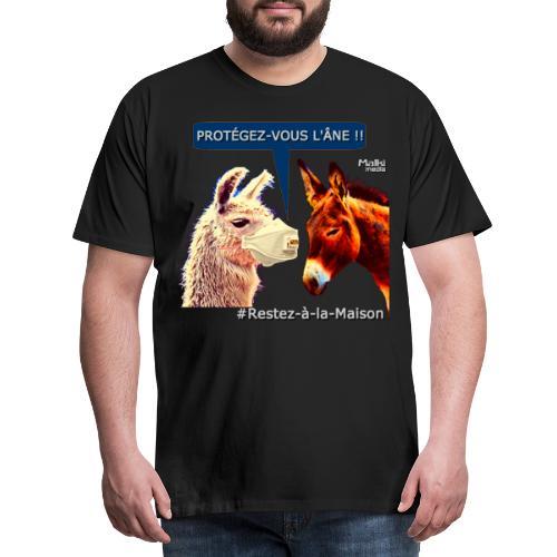 PROTEGEZ-VOUS L'ÂNE !! - Coronavirus - Camiseta premium hombre