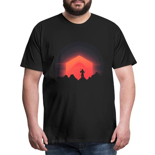 The Nightly Adventure D20 - DnD Dungeons Dragons - T-shirt Premium Homme