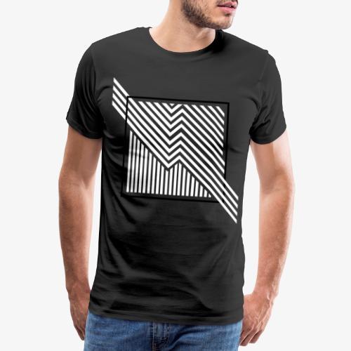 Lines in the dark - Men's Premium T-Shirt