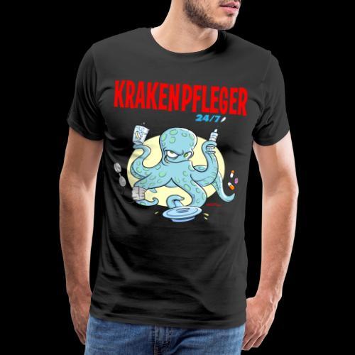 Krakenpfleger - Männer Premium T-Shirt