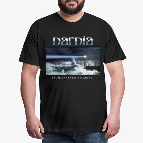 Narnia_FDTL_long_sv_bg - Men's Premium T-Shirt