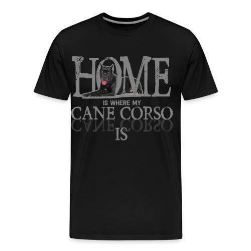Cane Corso Hund Hündchen Hunderasse Geschenk Idee - Männer Premium T-Shirt
