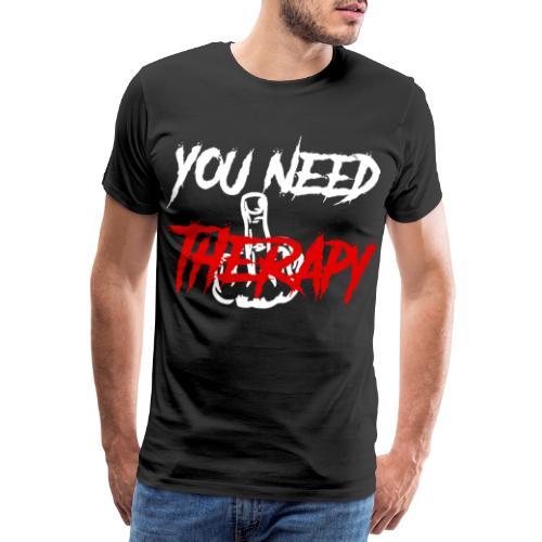 Therapy - Männer Premium T-Shirt