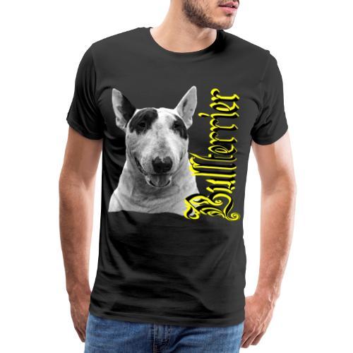 Bullterrier,Bulldog,Bulldogge,Hundekopf,Terrier, - Männer Premium T-Shirt